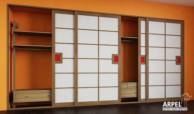 fitted and walk-in wardrobes