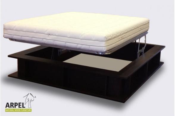 Bookcase box bed