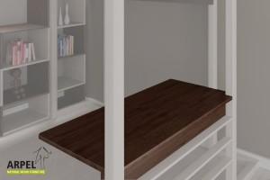 Schreibtisch für das Hochbett