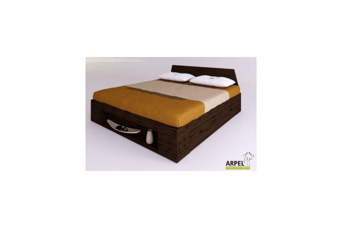 bett zen plus mit seitlichen schubladen. Black Bedroom Furniture Sets. Home Design Ideas