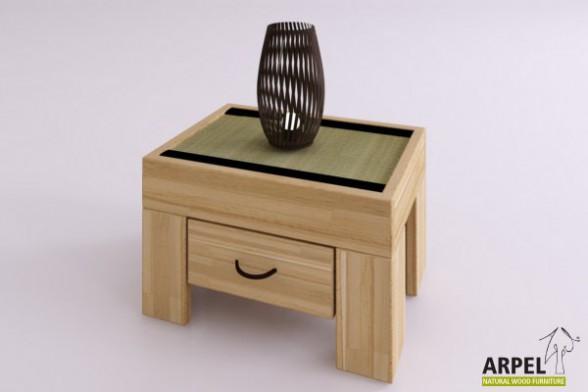Zen tatami bedside table