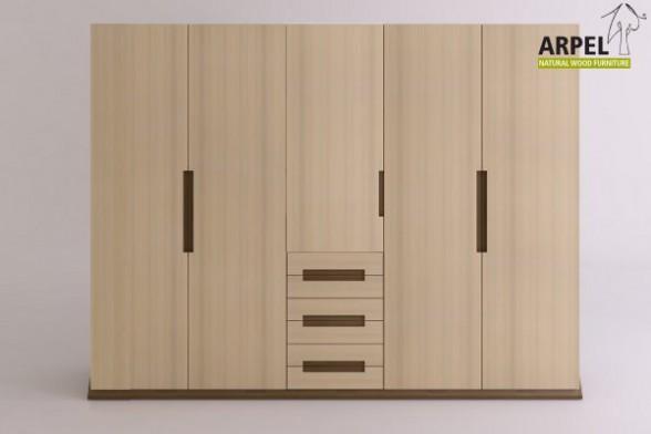 schrank origami mit 6 schubladen. Black Bedroom Furniture Sets. Home Design Ideas