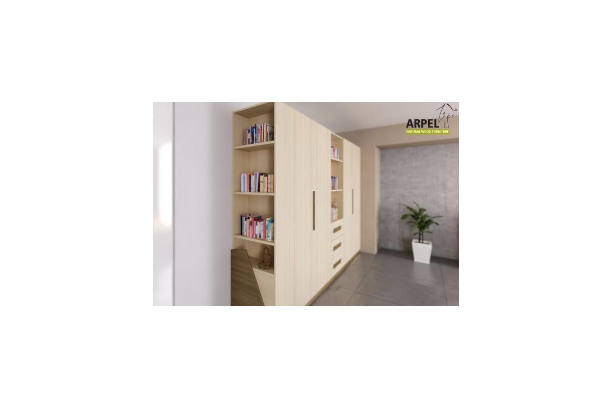 Armadio Origami 6 cassetti - Arpel - Naturholzmöbel
