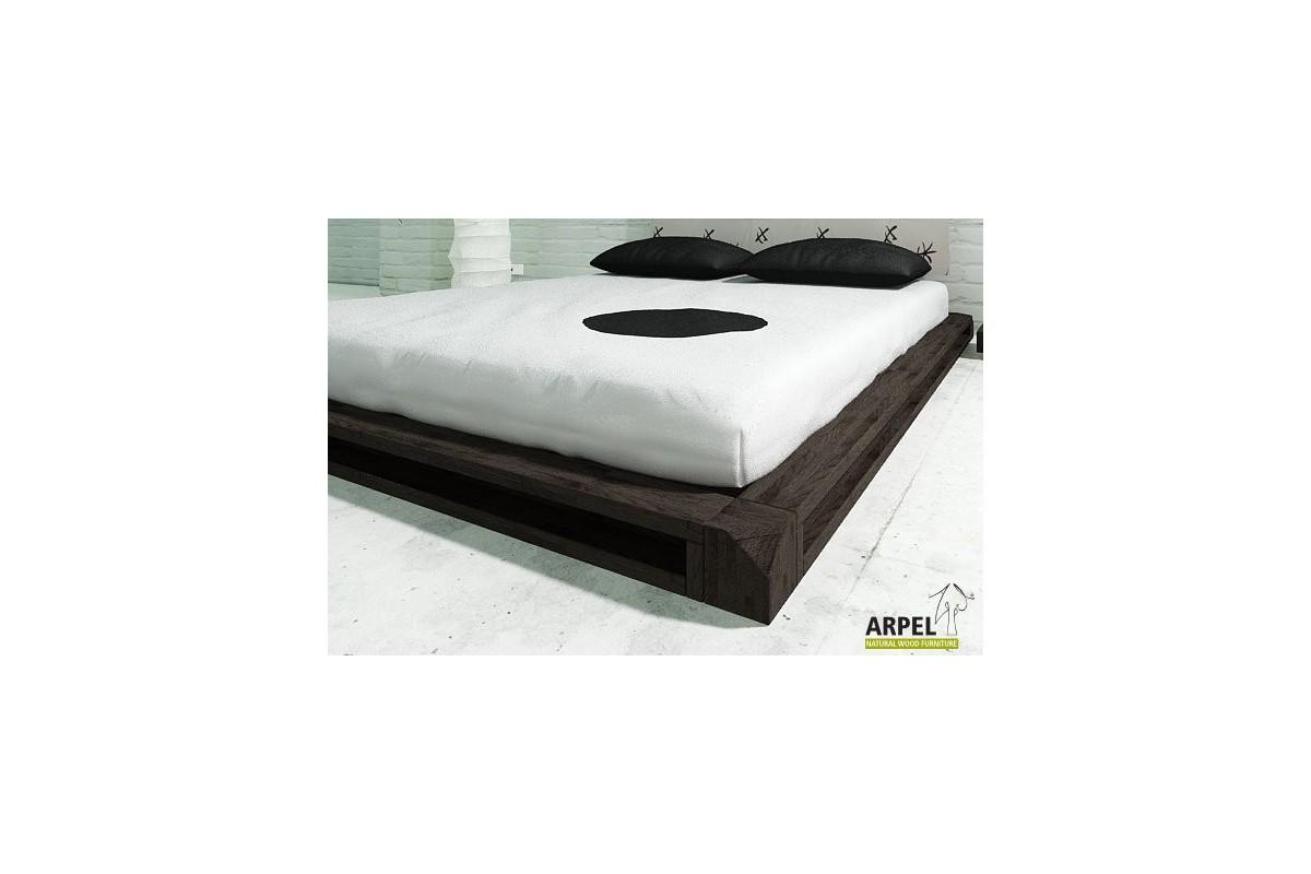 japanisches tiefliegende bett aiko aus kologischem buchenholz. Black Bedroom Furniture Sets. Home Design Ideas