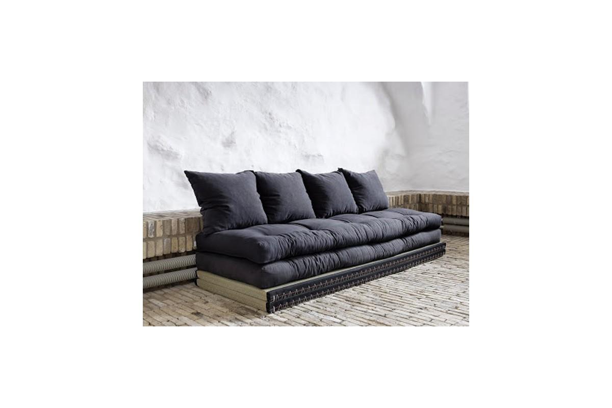 wandelbares schlafsofa tatami aus japanischem futon und. Black Bedroom Furniture Sets. Home Design Ideas