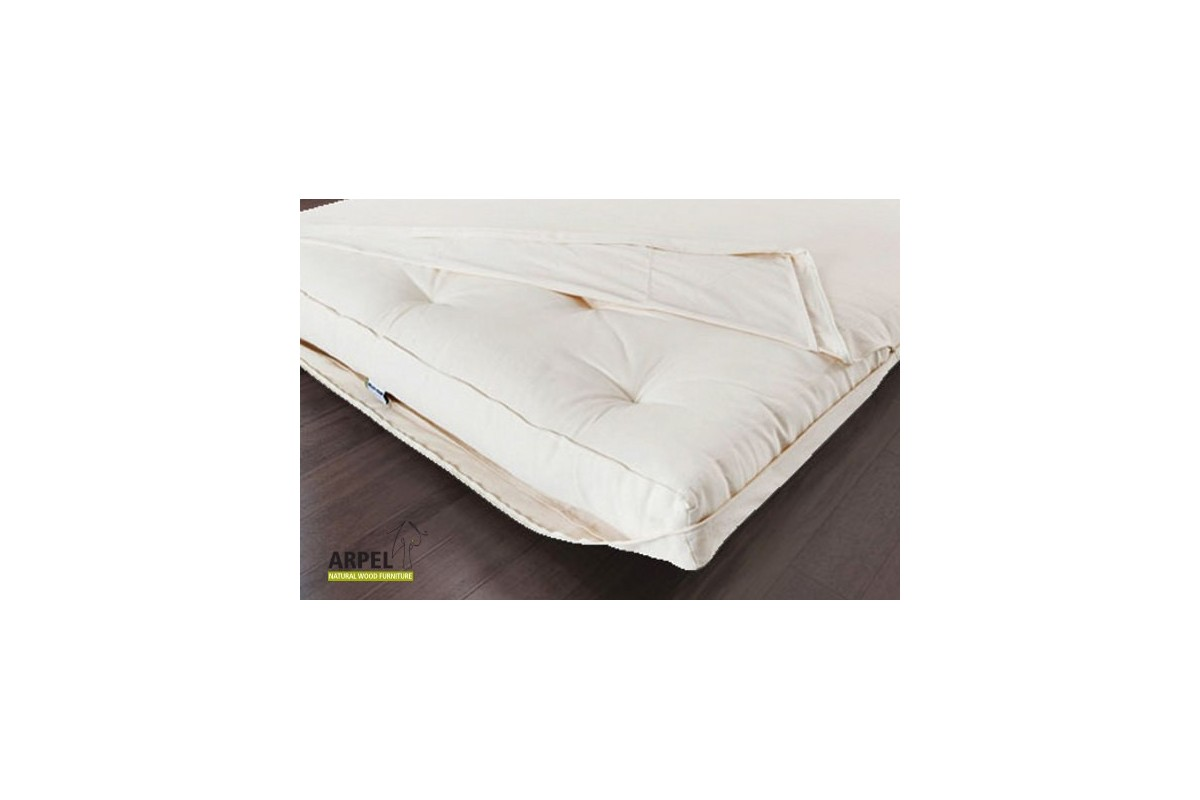 Tatami Futon Sofa Bed Cover Set In Pure