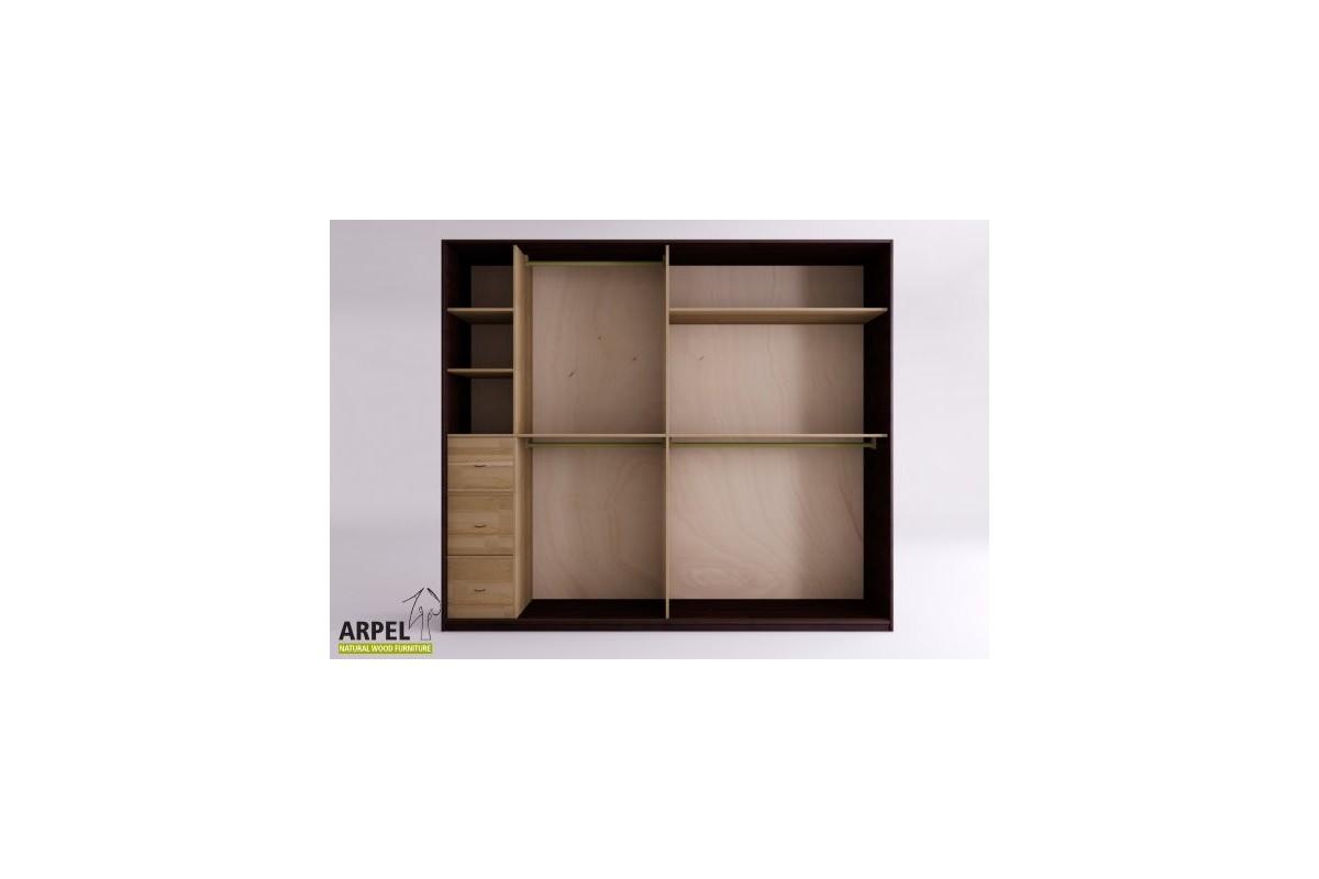 Schrank shoji reispapierschiebet ren 250 cm breit for Schrank 250 cm hoch