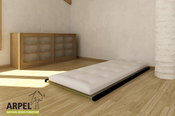 1 Tatami + Futon Cotton Latex Comfort