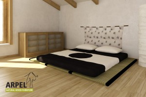 3 Tatamis + Futon Cotton & Latex Comfort