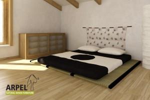 3 Tatamis + Futon Baumwolle & Latex Comfort