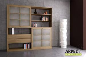 Quadro Bookshelf Rice Paper