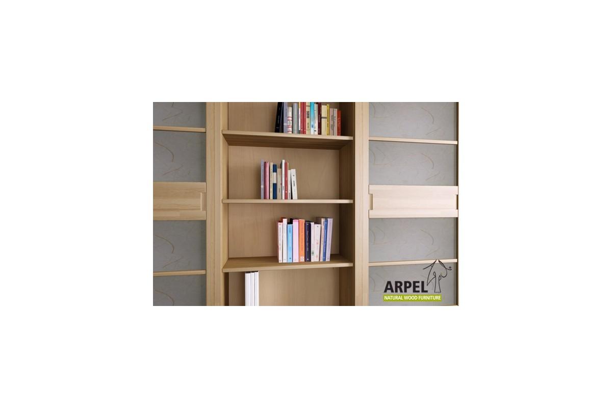 b cherregal variant mit japanischen schiebet ren und schubladen. Black Bedroom Furniture Sets. Home Design Ideas