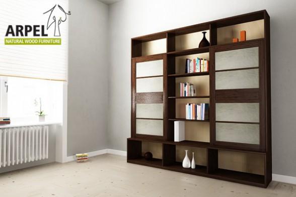 Libreria Con Ante Scorrevoli.Libreria Variant Plus Con Ante Scorrevoli Giapponesi