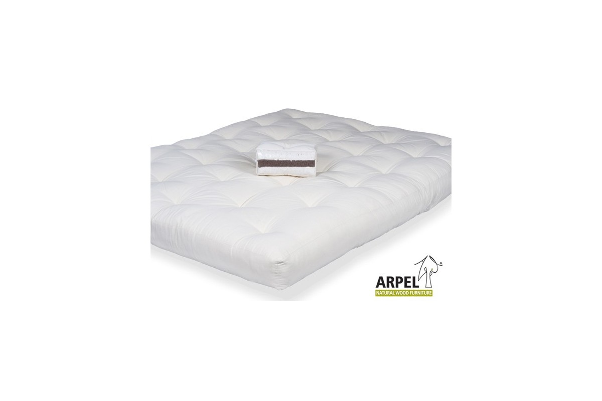 Futon Mattress In Bio Cotton Coconut