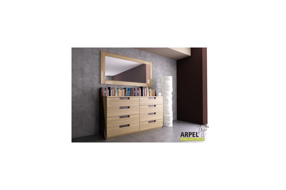 kommode origami b cherbord. Black Bedroom Furniture Sets. Home Design Ideas