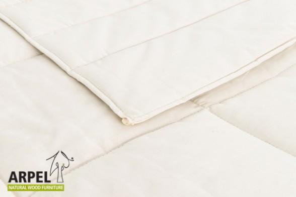 übergangs Bettdecke Aus Bio Baumwolle Seide Schurwolle Oder Seide