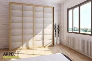 Shoji Wardrobe 250x230 cm with Rice Paper Sliding Doors
