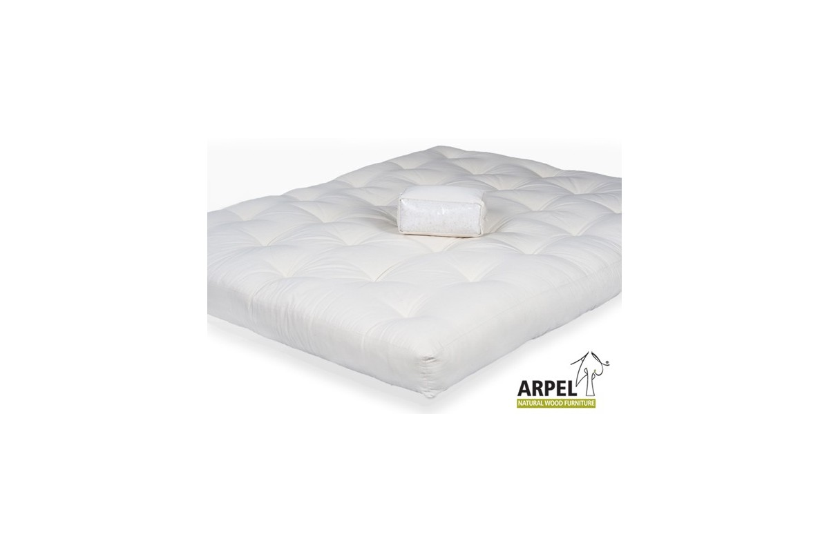 Japanese futon in pure organic cotton express delivery for Beds express delivery