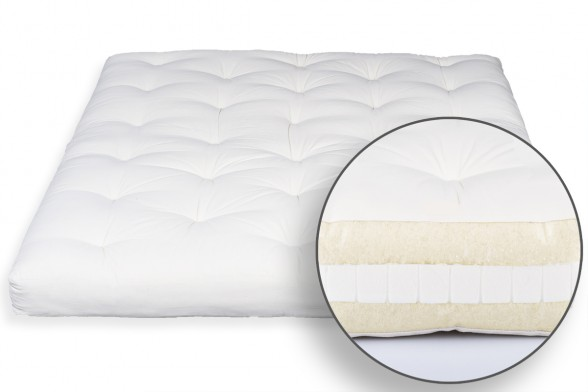 Japanese Futon Mattress Virgin Wool