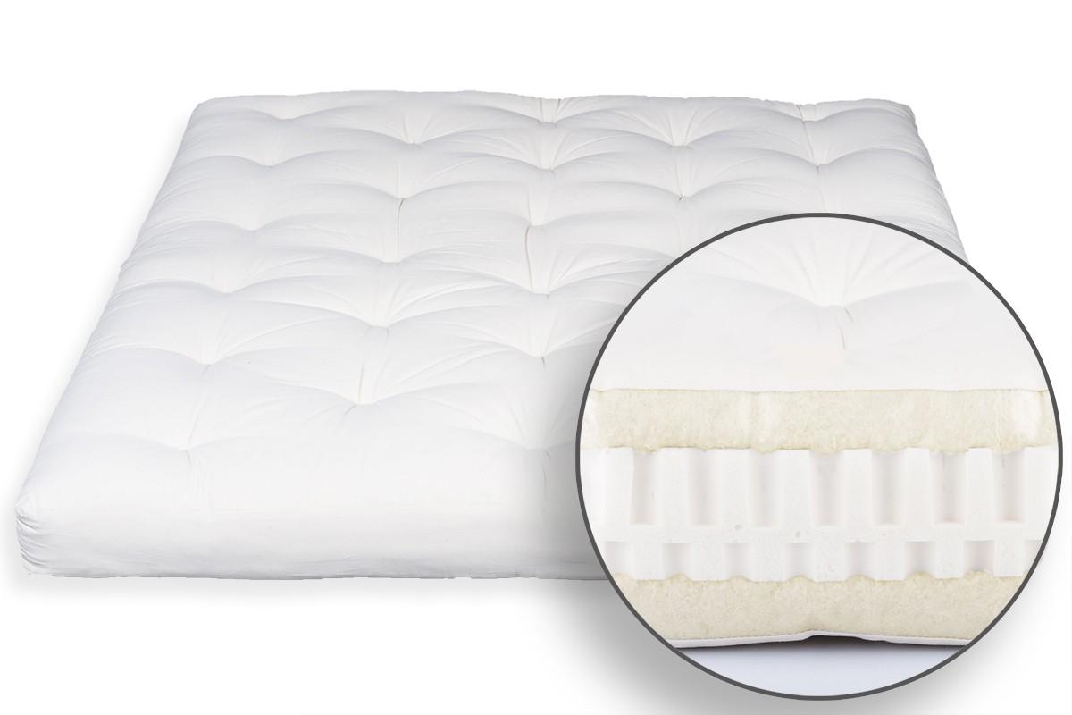 Manutenzione Materasso In Lattice futon in lana vergine e lattice 8
