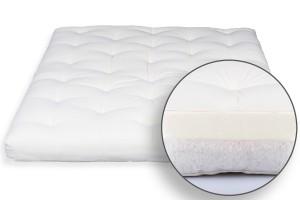 Futon Bio Cotton & Memory 6