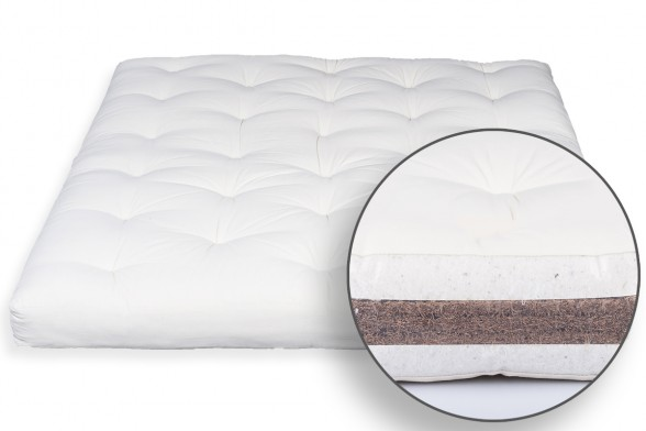 Futon Mattress In Bio Cotton Coconut
