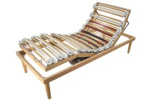Electric Adjustable Slatted Bed Base Flow