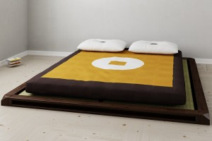 Complete japanese bed
