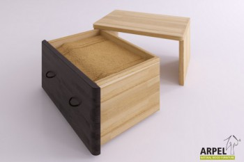 Storage bedside tables