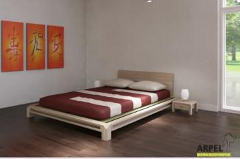 japanische betten aus massiver buche japanischwohnen. Black Bedroom Furniture Sets. Home Design Ideas