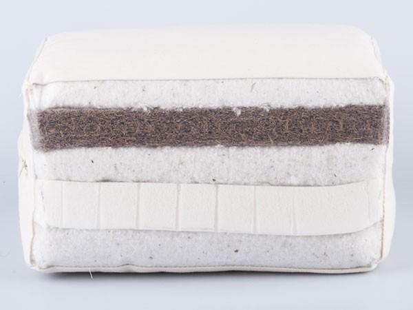 Bio-Baumwolle, Kokos und Latex