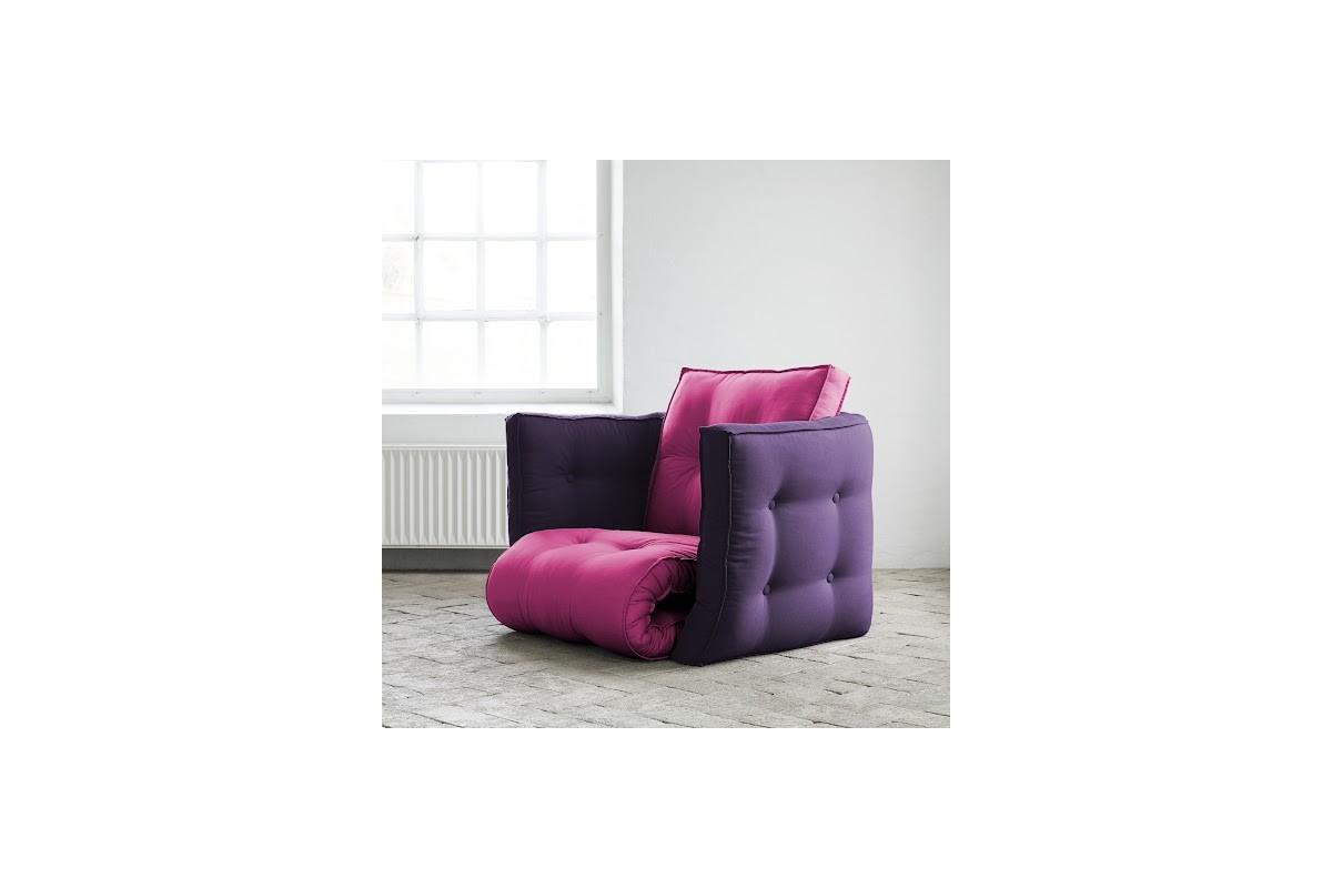 Poltrona letto dice un futon giapponese trasformabile - Poltrona che diventa letto ...