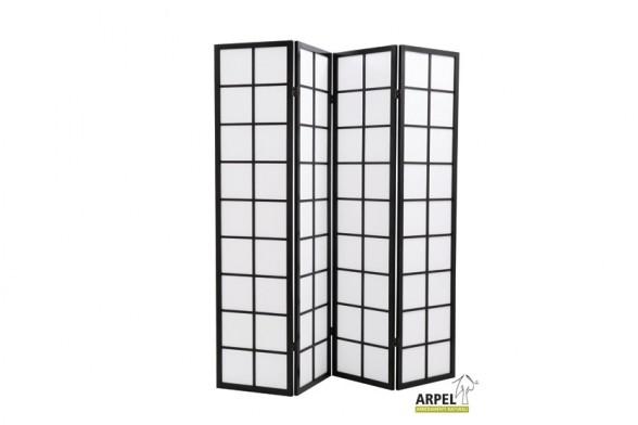 Folding Screen Nippon 4 Panels