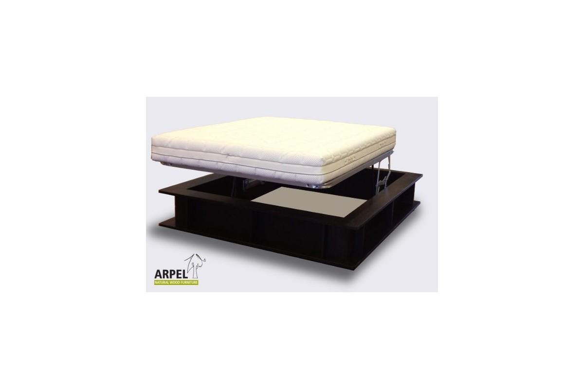 bett b cherregal gek rzt. Black Bedroom Furniture Sets. Home Design Ideas