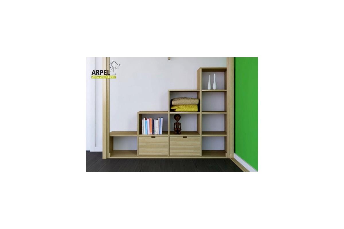 Scala ku be vendita mobili giapponesi arpel arredamenti naturali in legno - Scala letto soppalco ...
