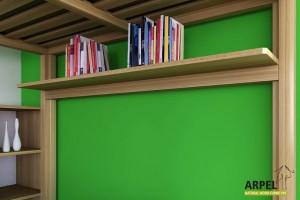 Shelf for loft bed