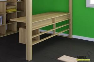 Grid for loft bed