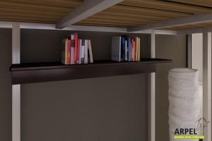 Mensola per letto a soppalco Ultra Reverse
