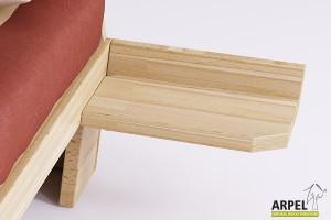 Zen basic suspended bedside table