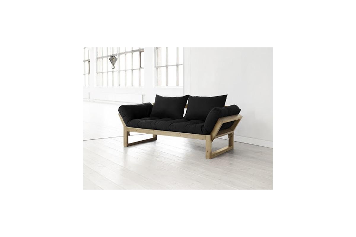 Divano letto edge con struttura in pino scandinavo e - Divani trasformabili letto ...