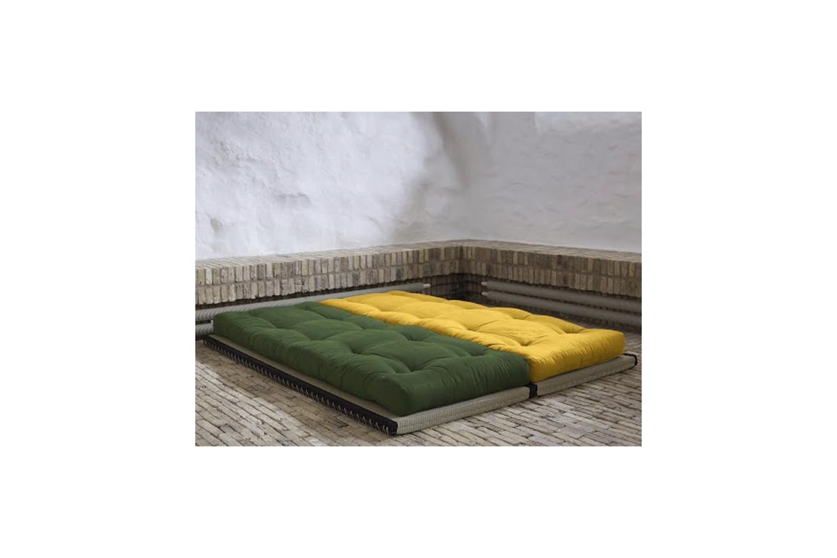 Divano letto tatami con futon giapponese in puro cotone - Futon divano letto ...