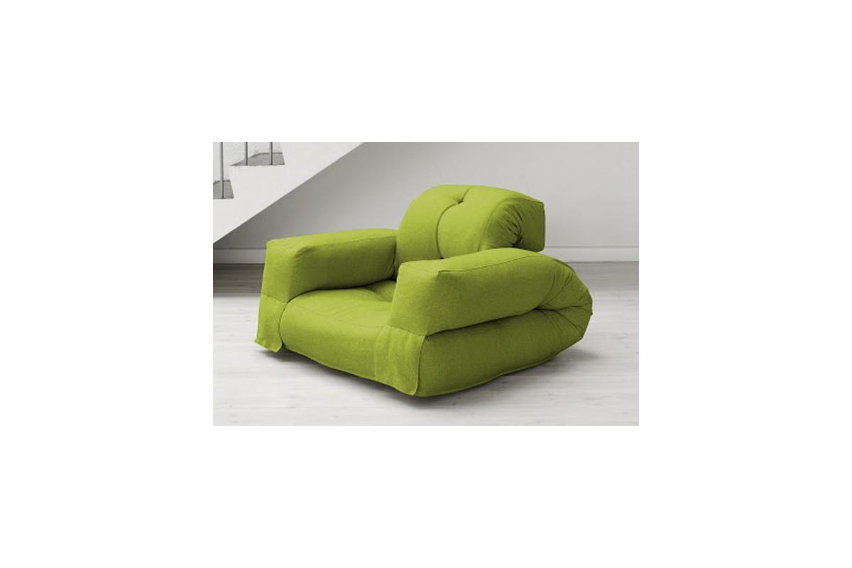 Poltrona futon hippo un futon giapponese trasformabile - Poltrone e sofa poltrona letto ...