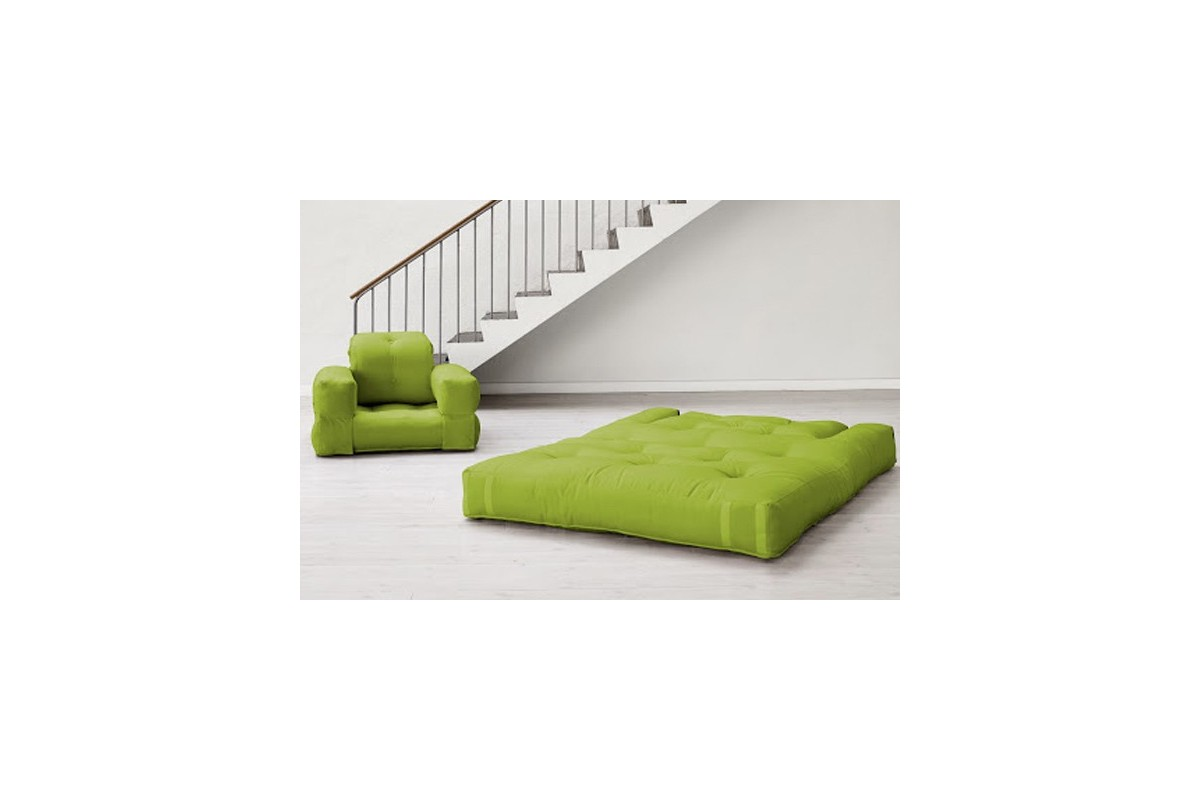 Poltrona futon hippo   un futon giapponese trasformabile