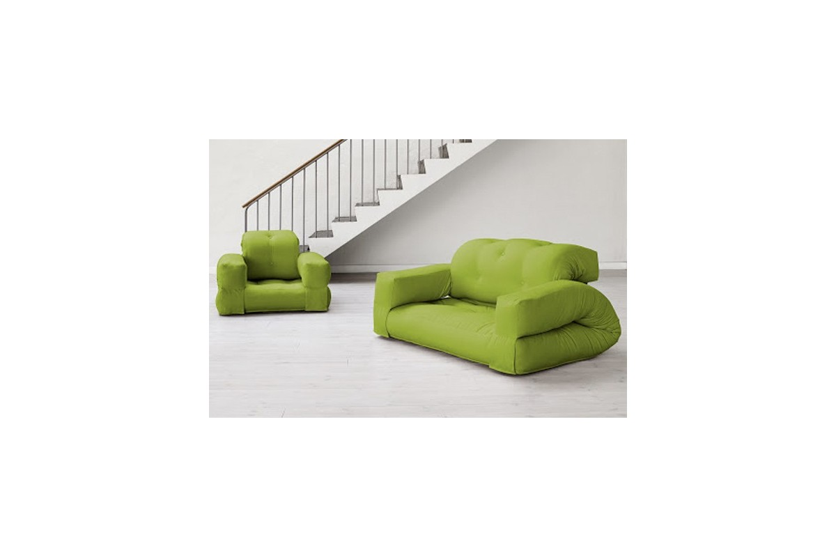 Transformable sofa bed hippo with japanese futon for Divan 90x200
