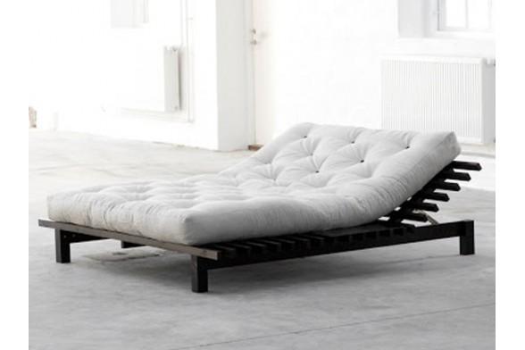 Letto blues in legno di pino scandinavo con testa del letto reclinabile - Testa del letto ...