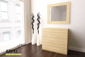Zen compact chest of drawers