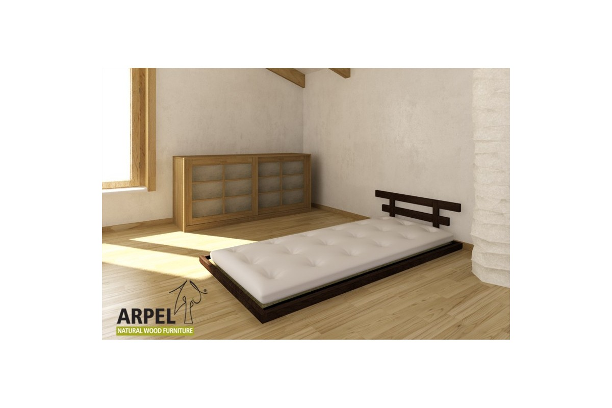 Japanese Low Bed Haru With Tatami Single Bed Version