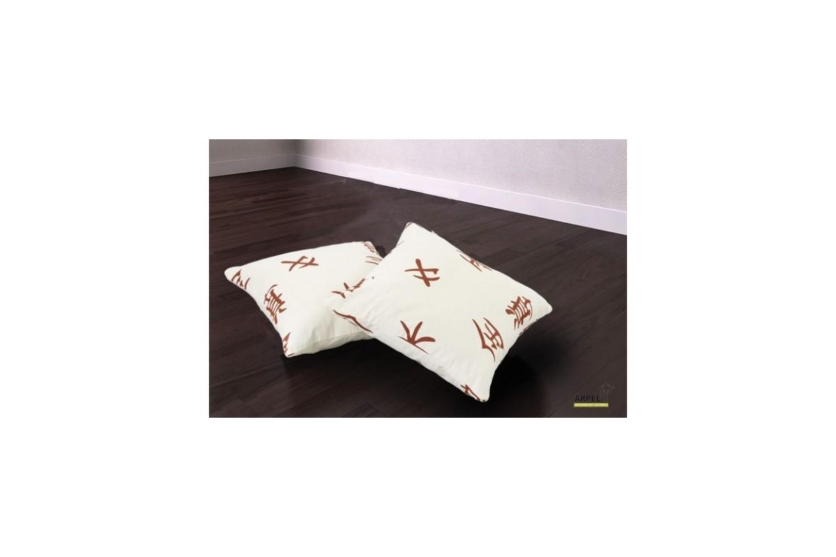 Cuscini per divani in cotone o fibra anallergica for Cuscini arredo per divani