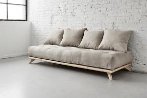 divani letto con materassi futon - vendita mobili giapponesi ... - Divano Letto Matrimoniale Legno