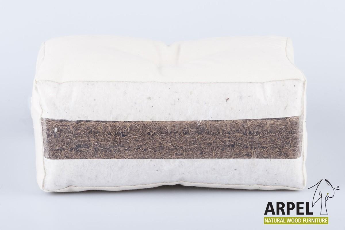 futon bio cotton  u0026 coconut     japanese futon mattress in bio cotton  u0026 coconut   100  natural  rh   venditamobiligiapponesi it